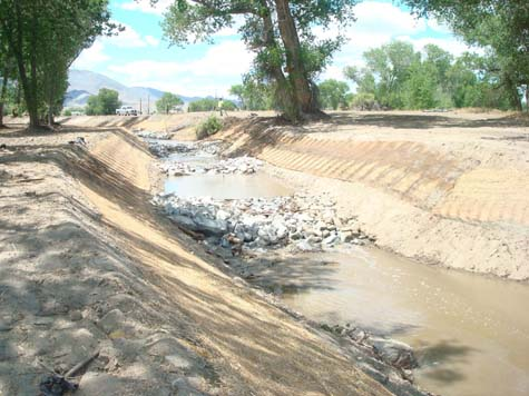 Irrigation Return Flow Ditch  Restored